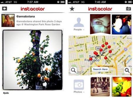 Instacolor, cuando Instagram y Color se funden en un servicio