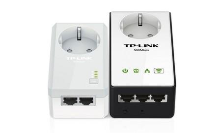 TP-LINK TL-WPA4230P, kit de adaptadores PLC de hasta 500 Mbps con WiFi N de 300 Mbps