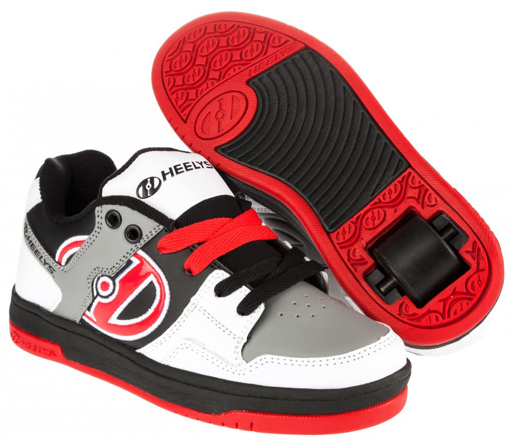 Shoes With Wheels For Kids Black Red