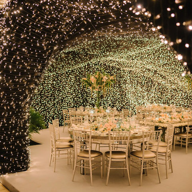 Las ideas de decoración para bodas al aire libre más inspiradoras están en Pinterest: estas son nuestras 33 favoritas