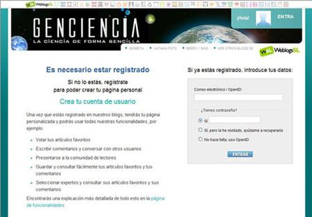 Registrarse en Genciencia: ahora mucho más fácil y rápido