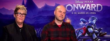 """""""Onward es una palabra épica pero lo más importante es que significa seguir adelante, una parte clave de la película"""". Dan Scanlon"""