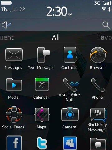 Blackberry OS 6