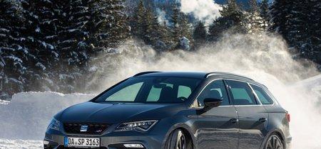 Comprobamos de qué es capaz el 4Drive de SEAT derrapando sobre hielo y subiendo montañas heladas