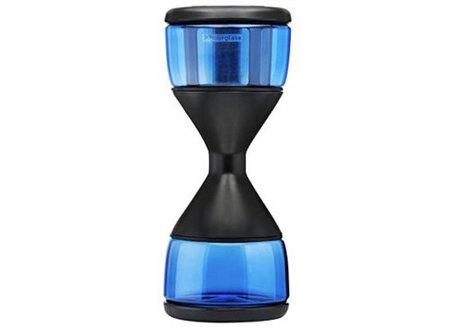 Un reloj de arena para un café