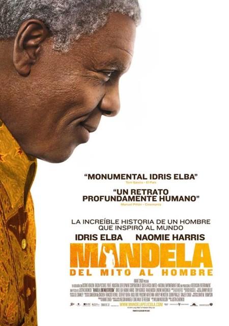 Hoy toca cine: Mandela, del Mito al Hombre