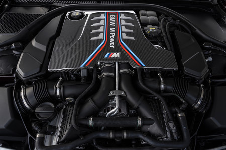 BMW M8 Gran Coupe 2020 motor
