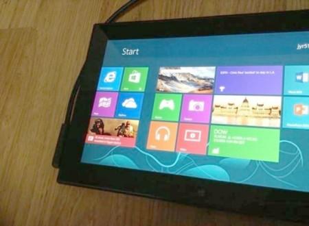 Una tablet Nokia con Windows 8 que se quedó en prototipo