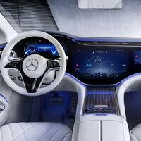 Mercedes-Benz EQS nos revela su novedoso interior que ya contará con el Hyperscreen
