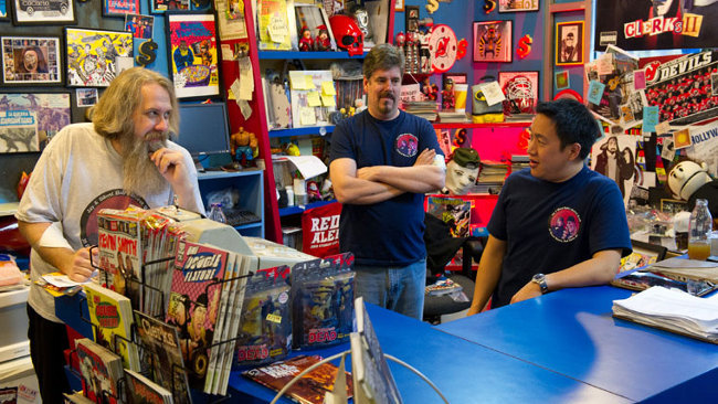 Comic Book Men - Bryan, Mike y Ming