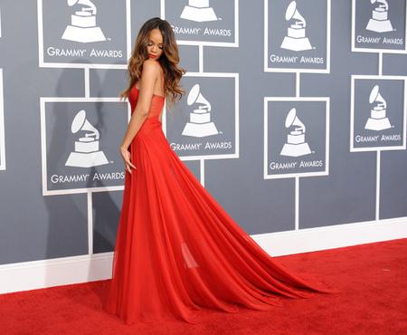 Grammys 2013: marchando una de celebrities en la alfombra roja