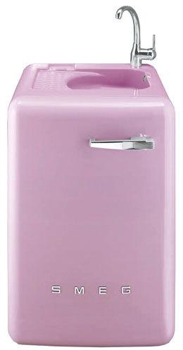 Lavadora con fregadero incorporado Smeg