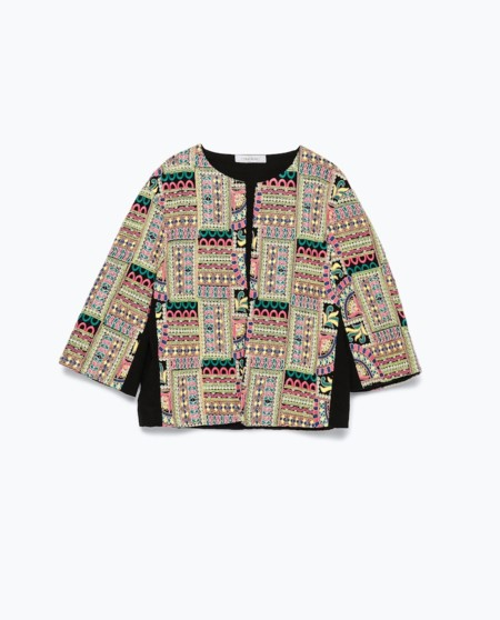 Chaqueta Etnica Zara