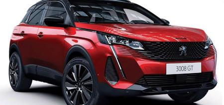 ¡Filtrado! El Peugeot 3008 2021 afila su rostro con un facelift