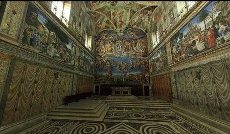 Sistine Chapel, tour virtual por la Capilla Sixtina