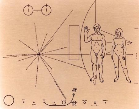 Cosmos, las placas de Sagan