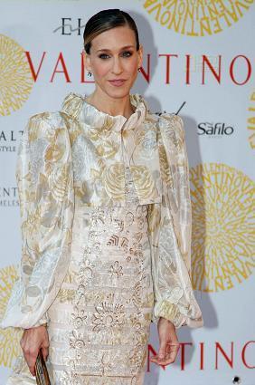 Sarah Jessica Parker celebra el 45 aniversario de Valentino