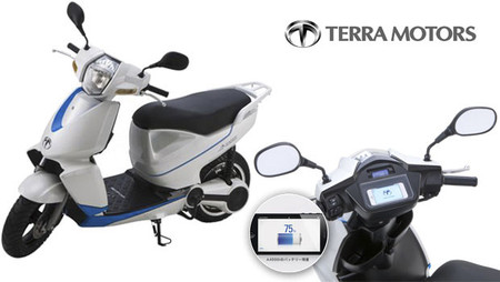 Terra Motors presenta el scooter eléctrico A4000i