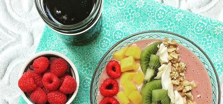 11 ideas para preparar un smoothie bowl: un desayuno saludable y riquísimo