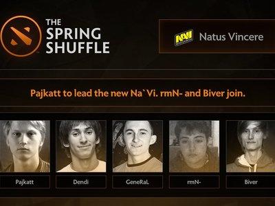 El nuevo roster de NAVI entre los cambios más relevantes del Spring Shuffle
