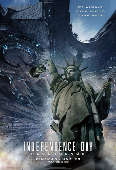 Independence Day Resurgence Nuevos Posters 1