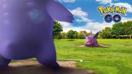 Pokémon GO - Nidorino y Gengar