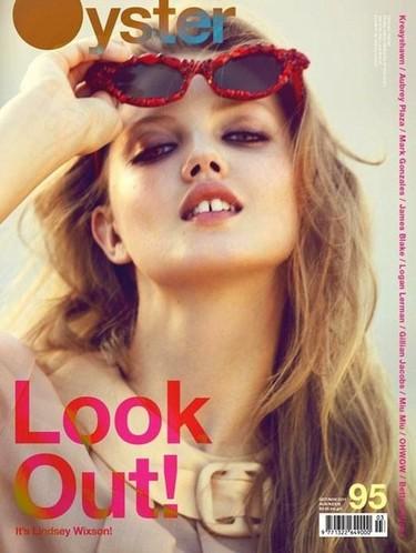 Lindsey Wixson es la Lolita que nos gusta en la revista Oyster