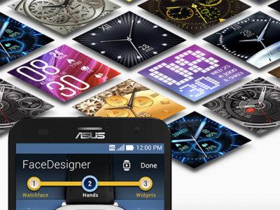 ZenWatch FaceDesigner, la app de Asus para que diseñes la carátula de tu smartwatch