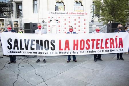"""La hostelería y el ocio nocturno denuncian """"la criminalización y estigmatización"""" que sufren de los políticos y aseguran que se han perdido ya 400.000 empleos"""