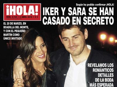 ¡Bombazo! Iker Casillas y Sara Carbonero se nos han casado