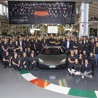 Lamborghini Huracan arrebata el trono al Gallardo como el superdeportivo más producido