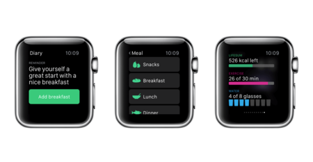 Lifesum Apple Watch