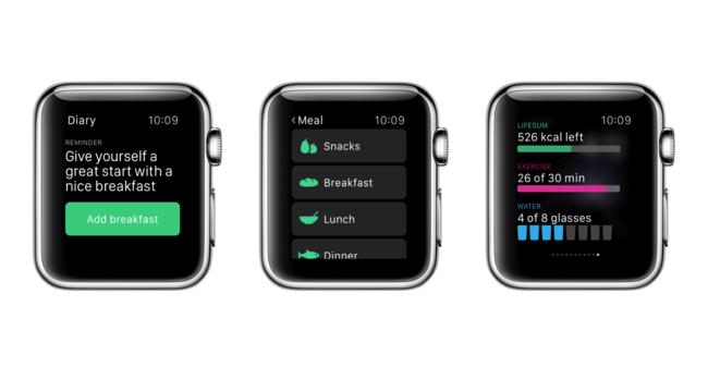 Lifesum Apple Watch
