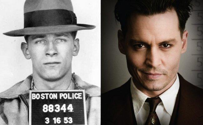 Whitey Bulger y Johnny Depp