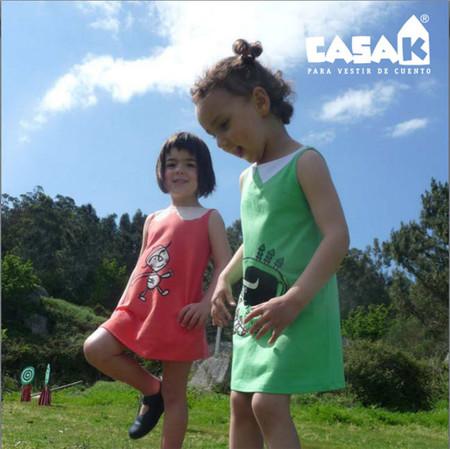 Viste a tus hijos de cuento... con CASA K