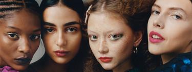 Zara TRF nos propone cuatro formas distintas de vestir nuestra mirada con purpurina
