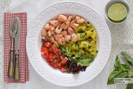 Adelgazar tras el embarazo: un menú quincenal muy saludable mientras das el pecho (o no)