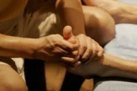 Cuidado con los masajes después de una carrera dura