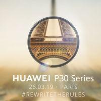 Huawei nos cita para el 26 de marzo: será momento para conocer los nuevos Huawei P30