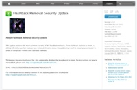 Flashback Removal Security Update para OS X Leopard