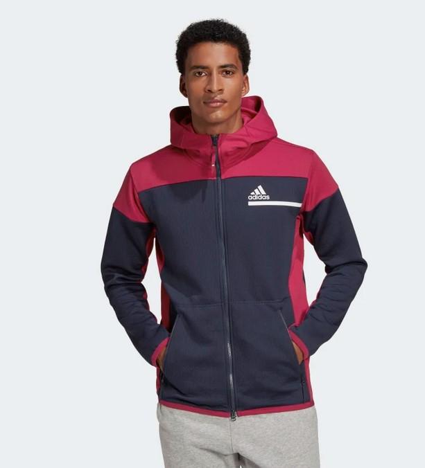 Chaqueta con capucha adidas Z.N.E. AEROREADY