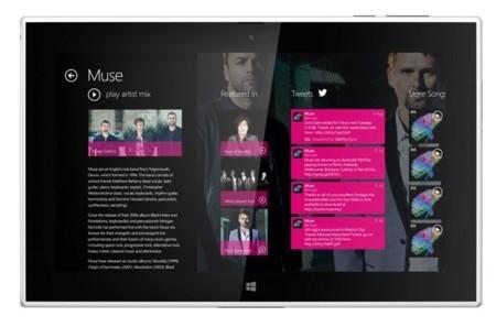Lumia 2520 frente