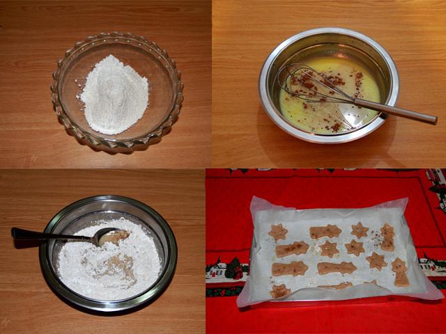 Paso a paso galletas navideñas con leche sin lactosa
