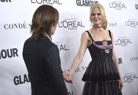 Una espectacular Nicole Kidman hace sombra a las hermanas Hadid en la Gala Glamour Women of the year