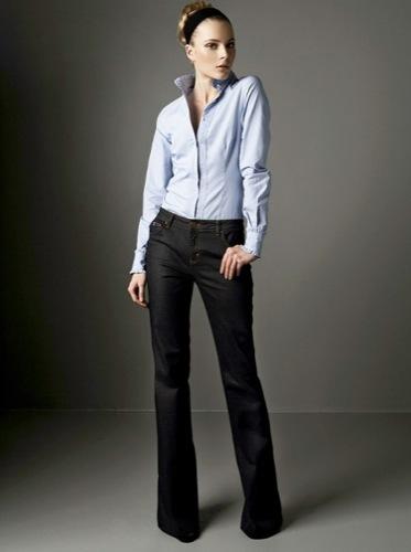 Nuevos looks y estilos de Zara, Otoño-Invierno 2009/2010, camisa
