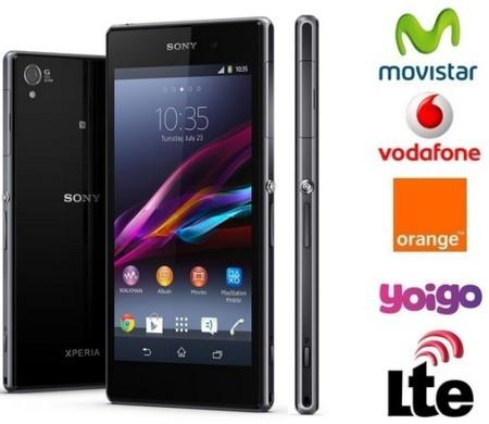 Precios Sony Xperia Z1 con Orange y comparativa con Movistar, Vodafone y Yoigo