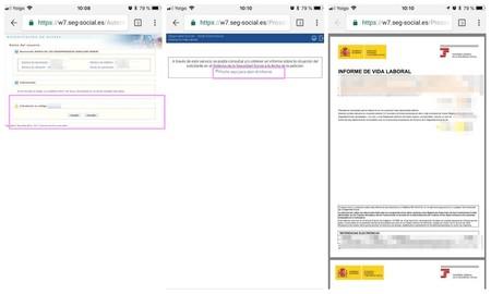 Como Descargar El Informe De Vida Laboral Desde El Movil Android Y