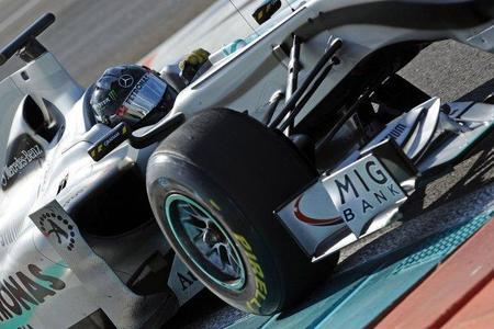 Nico Rosberg será el primero en probar el Mercedes W02