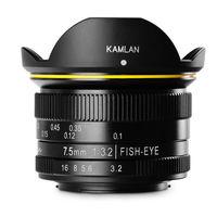 Kamlan 7.5mm F3.2 Fish-Eye: El nuevo objetivo chino de montura Micro 4/3 para distorsionar el mundo