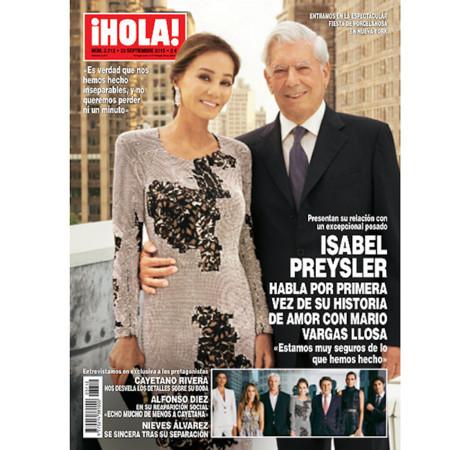 Isabel Preysler Y Mario Vargas Portada Hola Porcelanosa